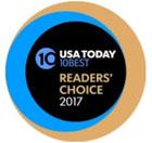 USA TODAY 10Best Readers' Choice travel award logo